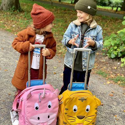 Kindermusthaves - Op reis met de aller leukste koffers van Affenzahn!