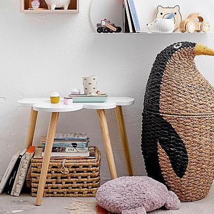 Kindermusthaves - Opbergmand pinguïn!