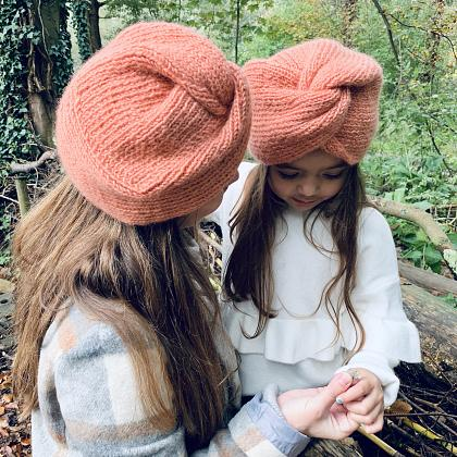 Kindermusthaves - Twinning turban!