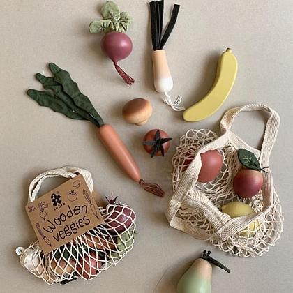 Kindermusthaves - Wooden veggies!