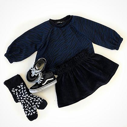 Kindermusthaves - Blue zebra!
