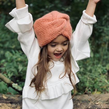 Kindermusthaves - Turban hat in de sale!