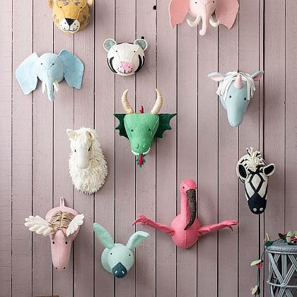 Kindermusthaves - De leukste dierenkoppen voor aan de wand!