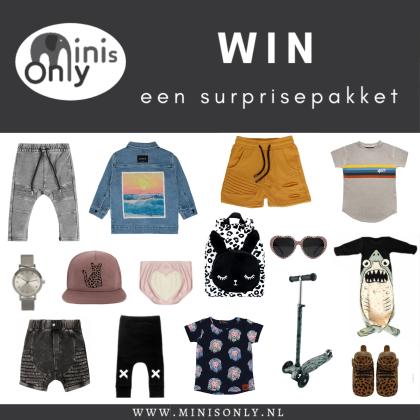 Kindermusthaves - WIN! Een surprise pakket van Minis Only!
