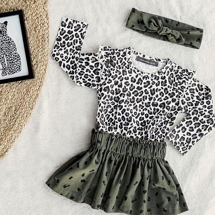 Kindermusthaves - Leopard meets camouflage!