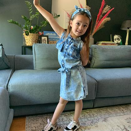 Kindermusthaves - Denim it is today!