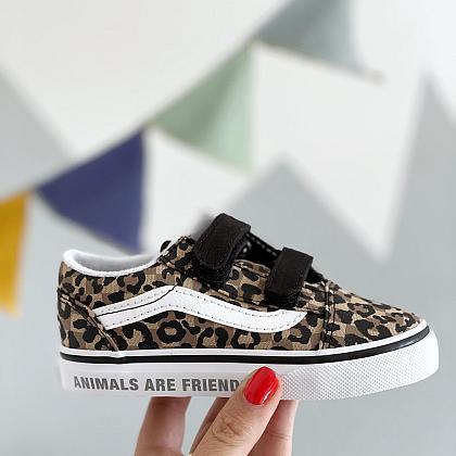 Kindermusthaves - Leopard Vans!