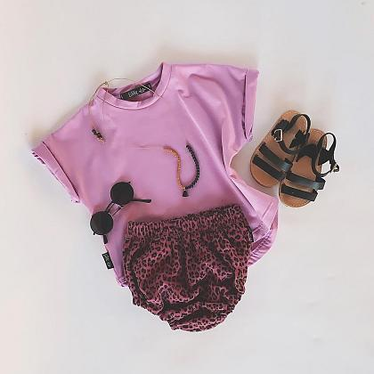 Kindermusthaves - Leopard + lila = wauw!