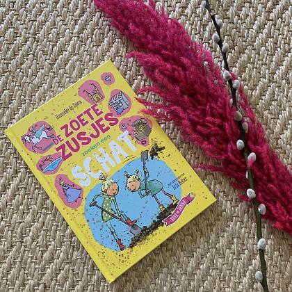 Kindermusthaves - Boekentip: De zoete zusjes zoeken een schat!