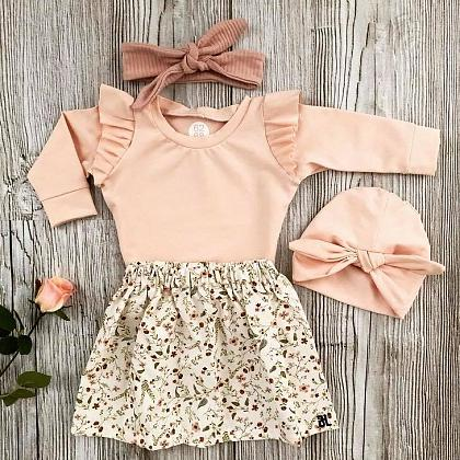 Kindermusthaves - Ruffles en flowers!
