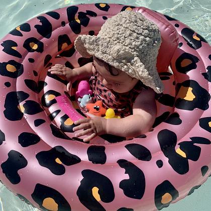 Kindermusthaves - Roze panter zwemband!
