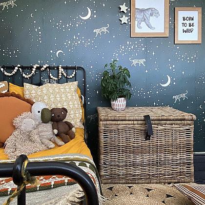Kindermusthaves - Behang met een gouden touch!