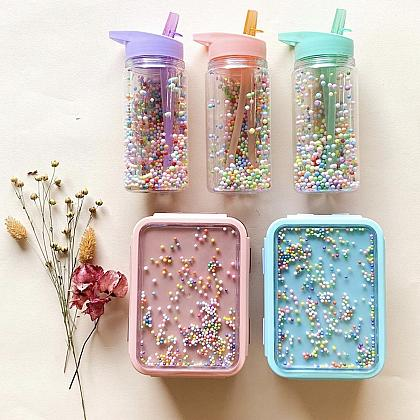 Kindermusthaves - Macaron Popsicles lunchset!
