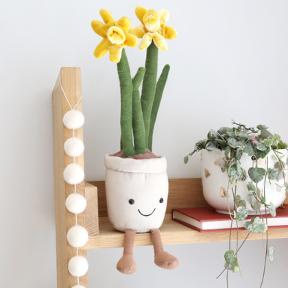 Kindermusthaves - Knuffel narcis plant!