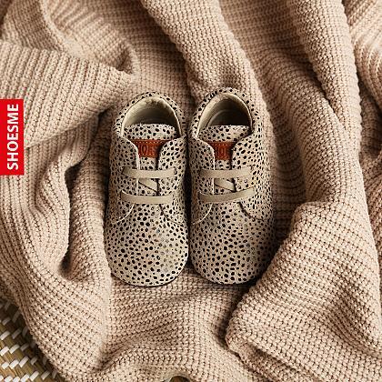 Kindermusthaves - Babyschoenen met stippenprint!