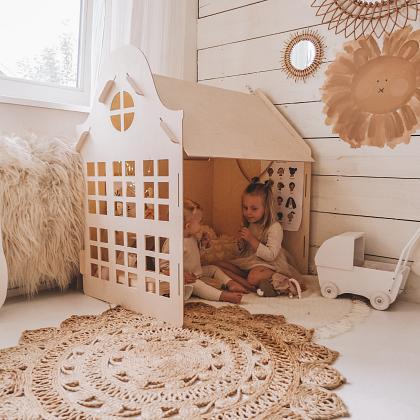 Kindermusthaves - Leuke houten speelhuisjes!