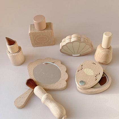 Kindermusthaves - Houten beauty set!