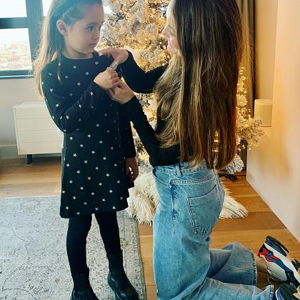 Kindermusthaves - Stralen tijdens kerst in deze mooie kerstjurk!