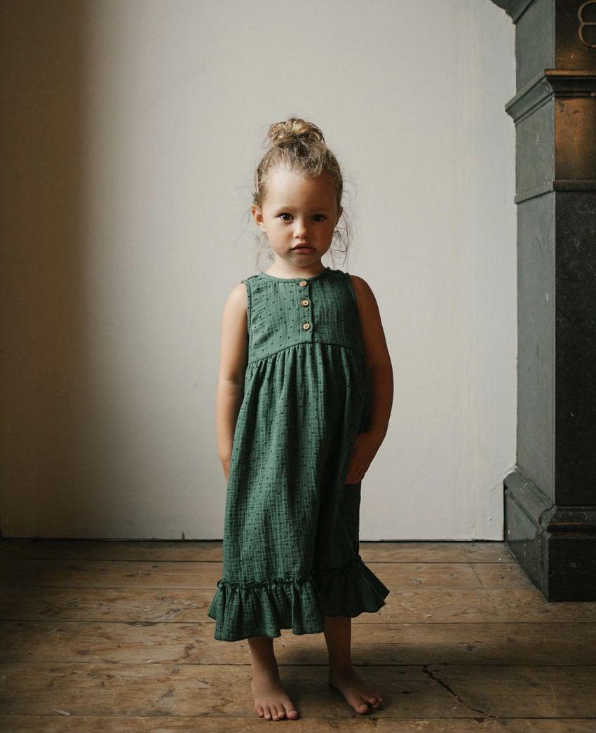Girly jurk met polka dots!