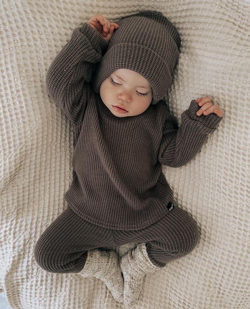 Stoer, lief knitwear setje!