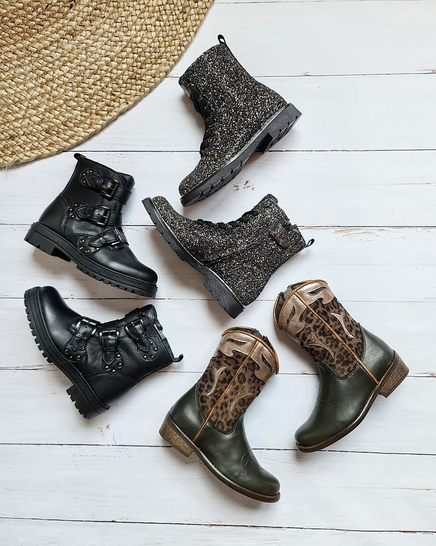 5x stoere girls boots!