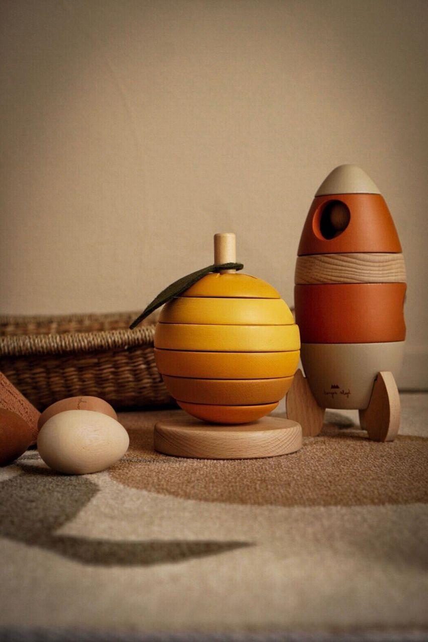 Het houten speelgoed van Konges Slojd!