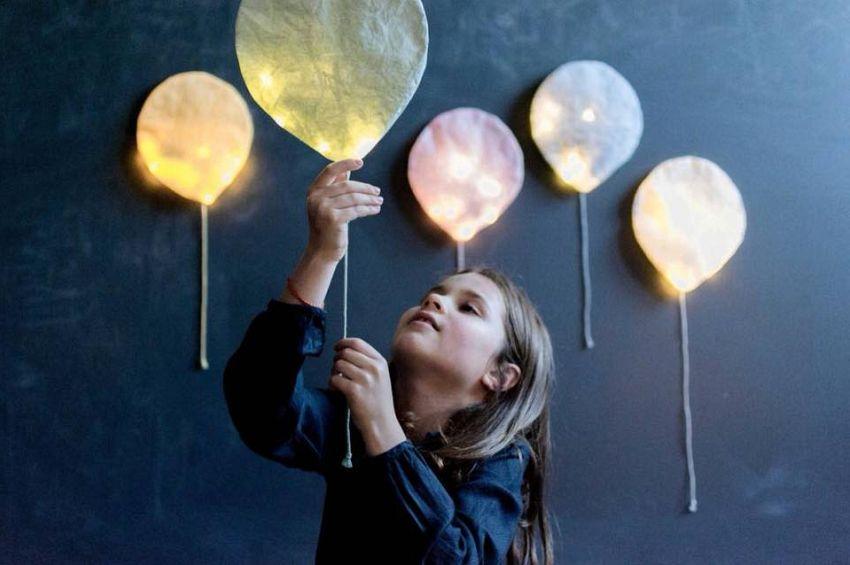 Ballonnen met licht!