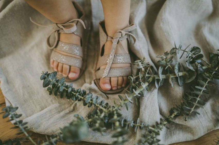 Metallic sandaaltjes!