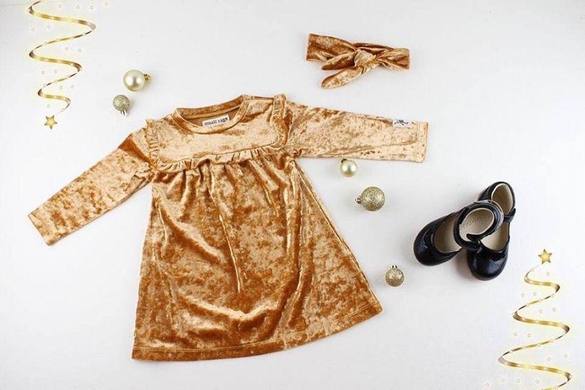 Deze outfit is goud waard!