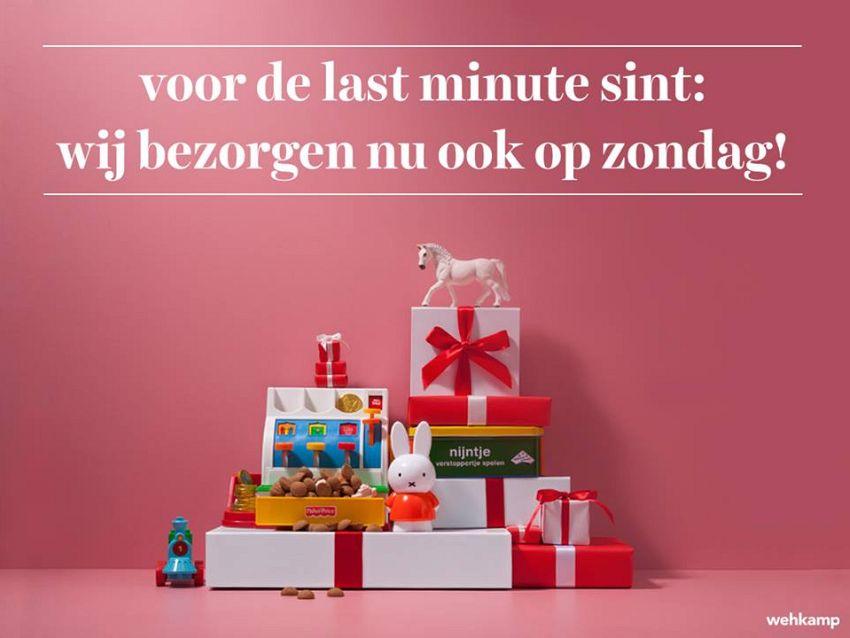 Last minute Sint cadeaus!