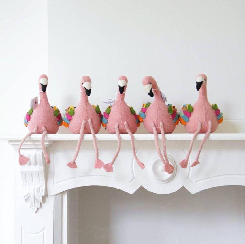 Flamingo boekensteun!