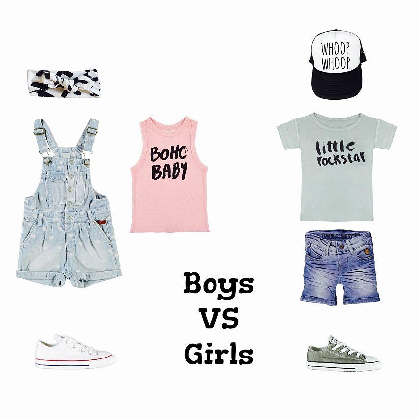 Boys vs. Girls!