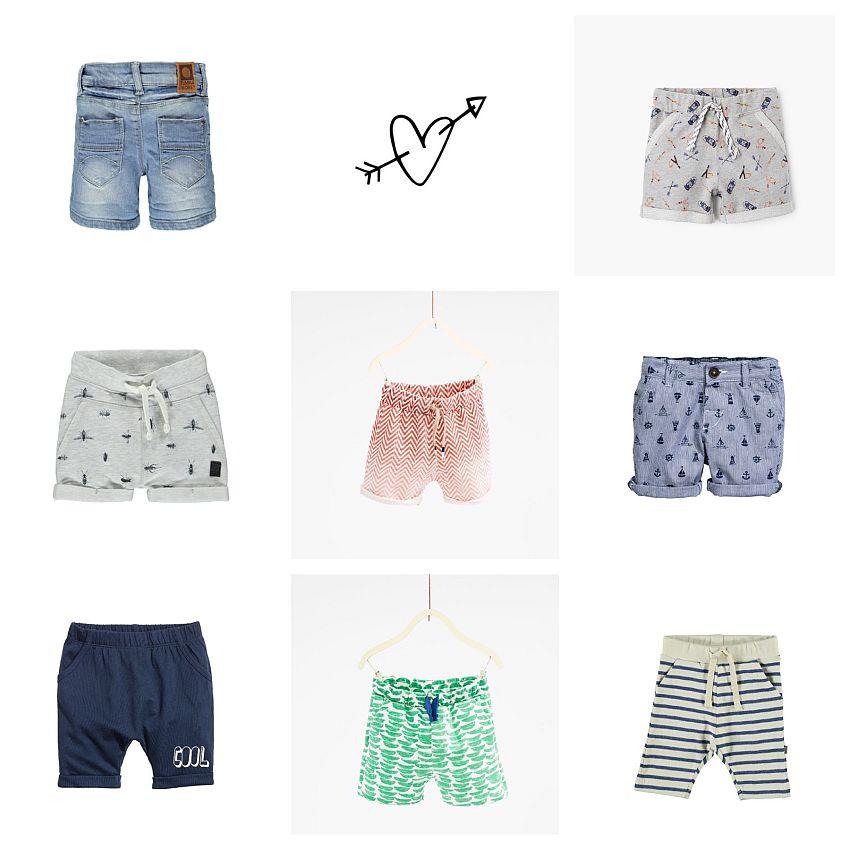 8x de stoerste shorts voor boys!