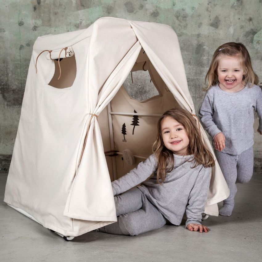 Commode met spannende tent!