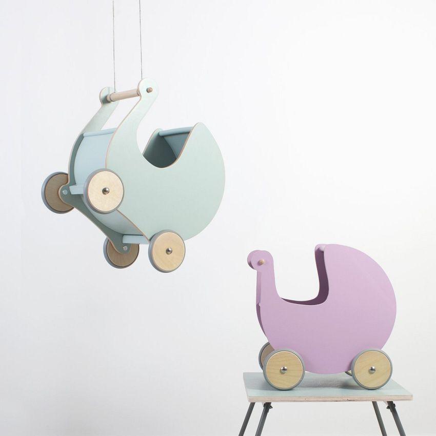Een droom van een poppenwagen!
