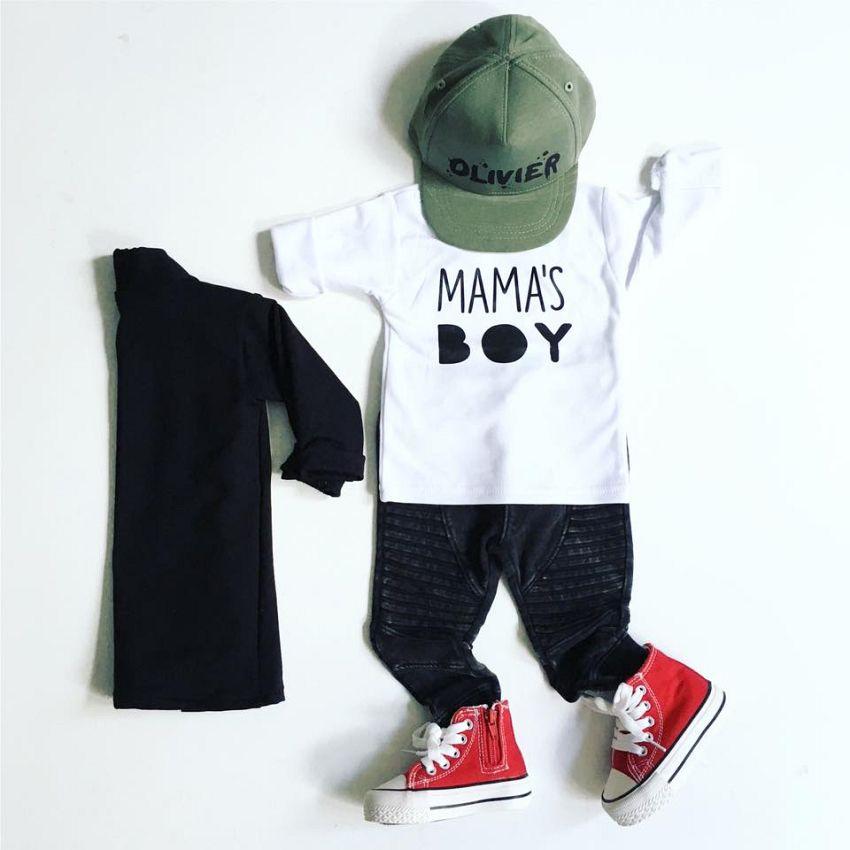 Mama\'s boy!