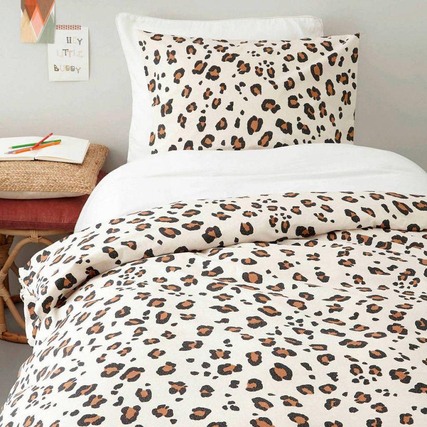 Leopard dekbedovertrek!