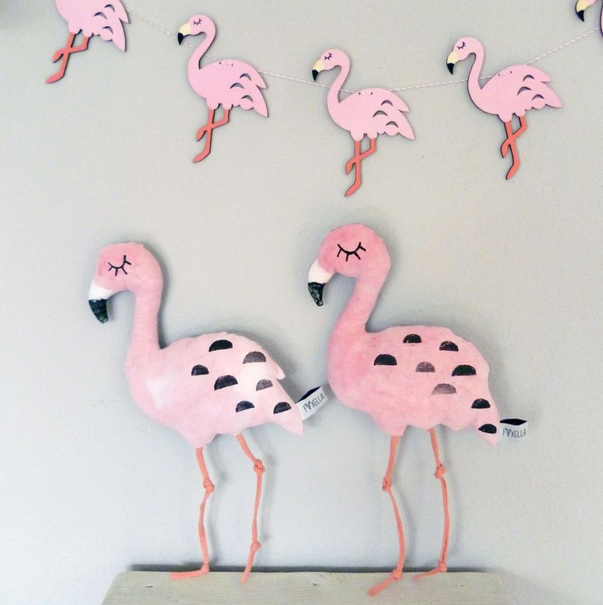 Lovely flamingo\'s!