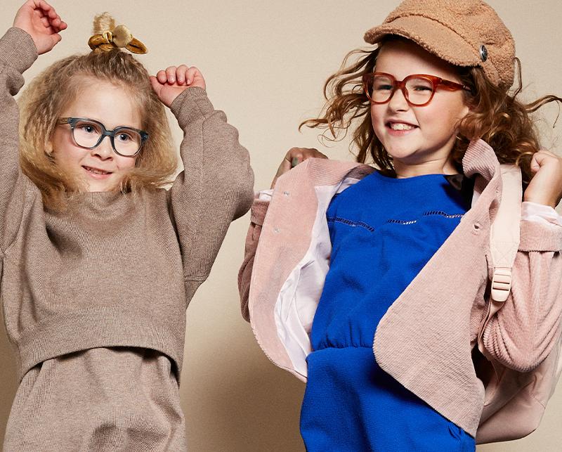 De hippe kinderbrillen van Junior & Junior!