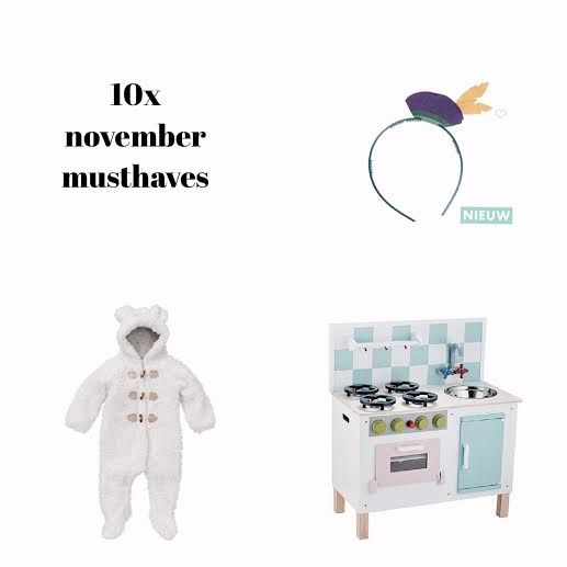 De 10 Kindermusthaves!