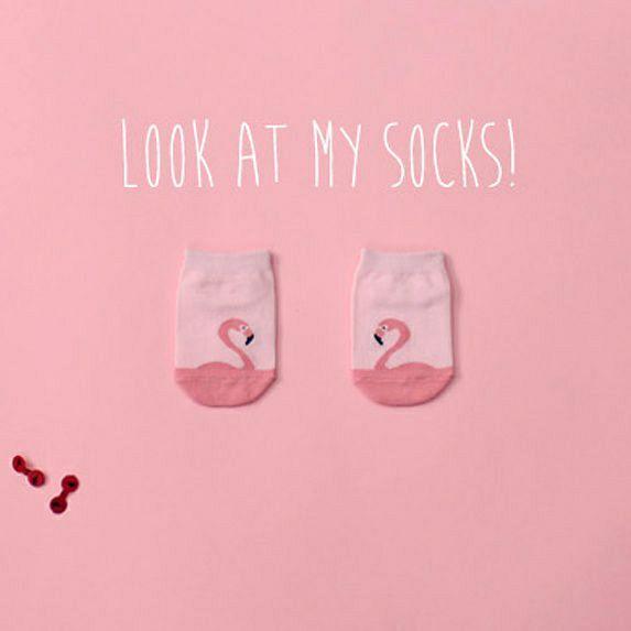 Look at my socks!