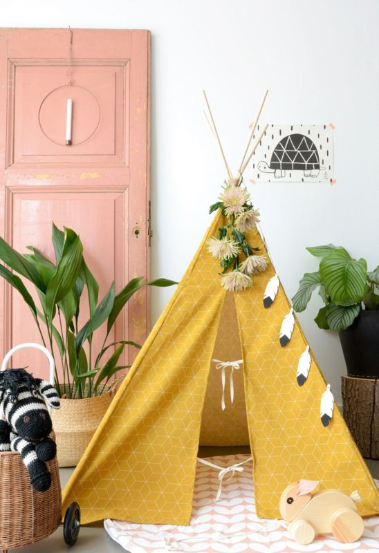 Create your own tipi!