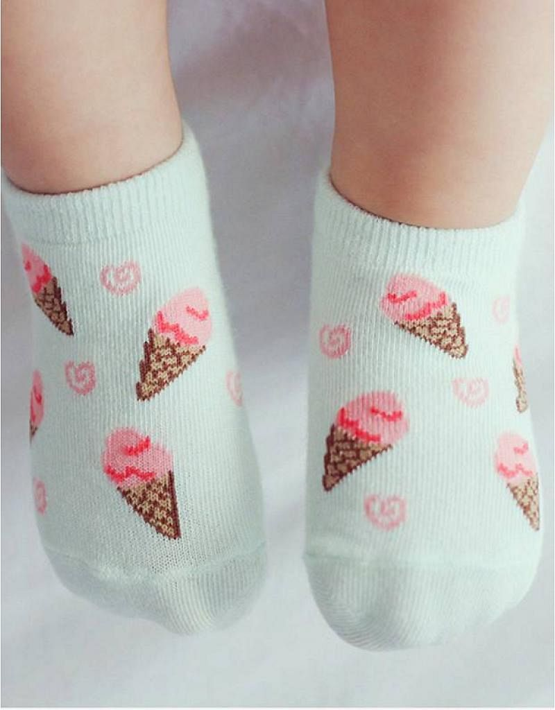 Sokjes met ijsjes!