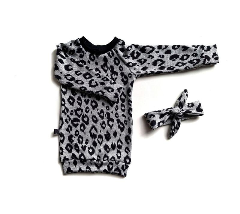 Sweaterdress leopard!