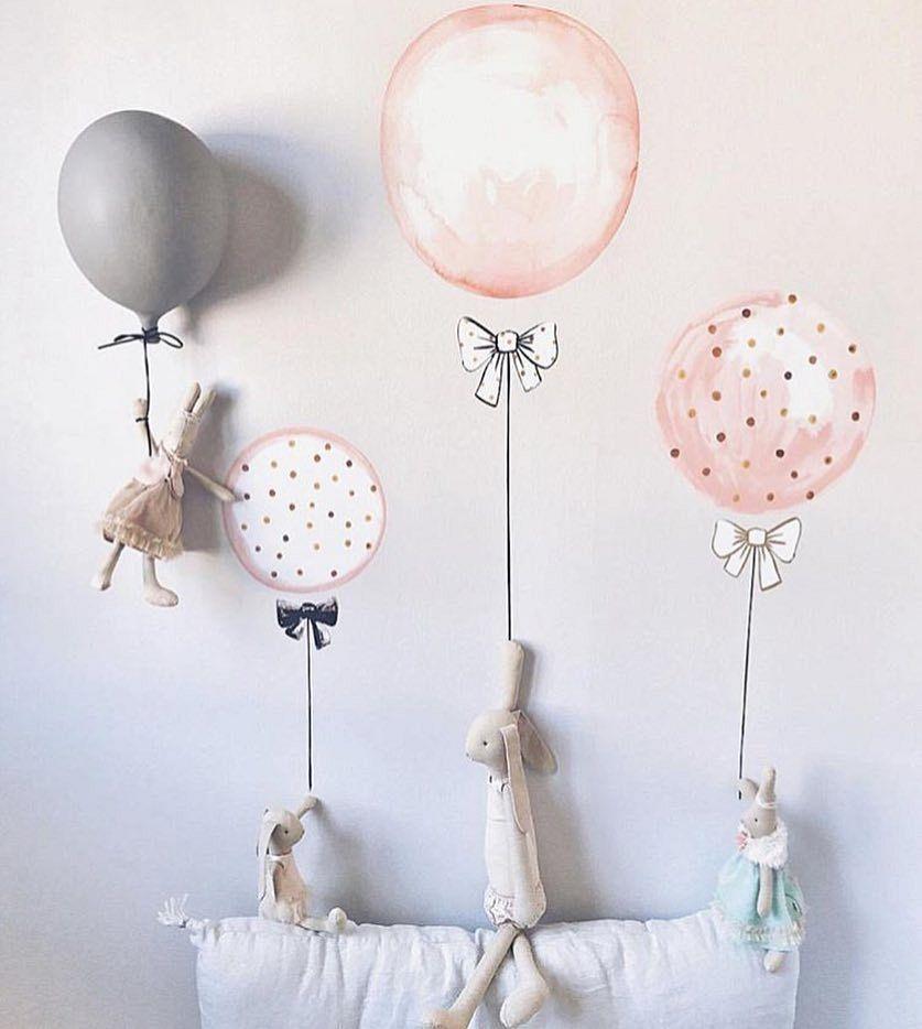 Ballonnen muursticker!