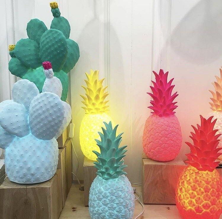 Cactus & ananas!