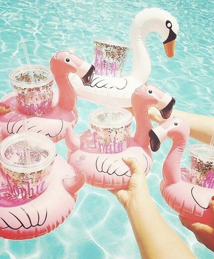 Flamingo bekerhouder!