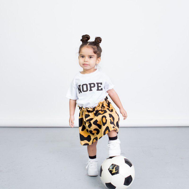Leopard skirt!