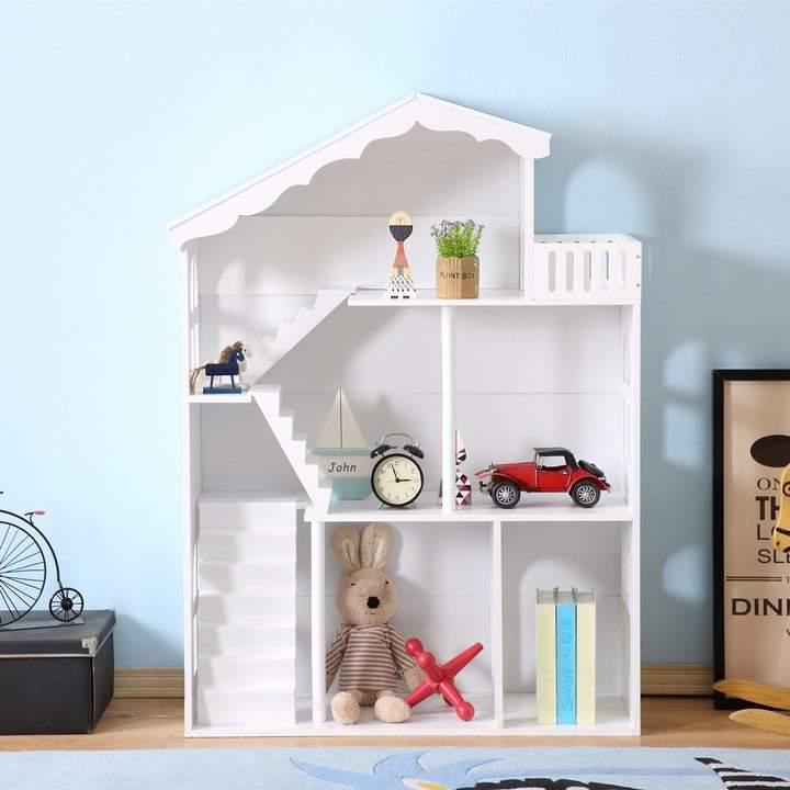 Poppenhuis en boekenkast in 1!